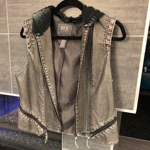 BKE Pleather Vest